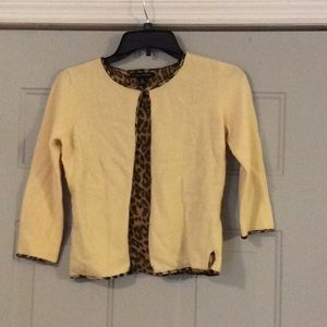 Cute cape short jacket, animal print, never worn